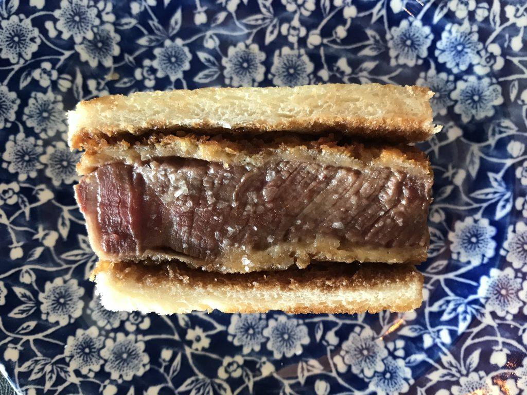 sandwich de solomillo