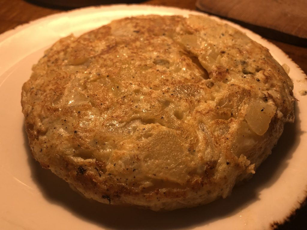 Tortilla Trufada