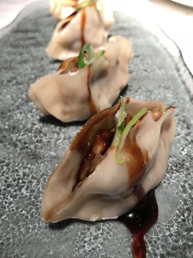 Gyozas de pato y foie - Manolita Chen